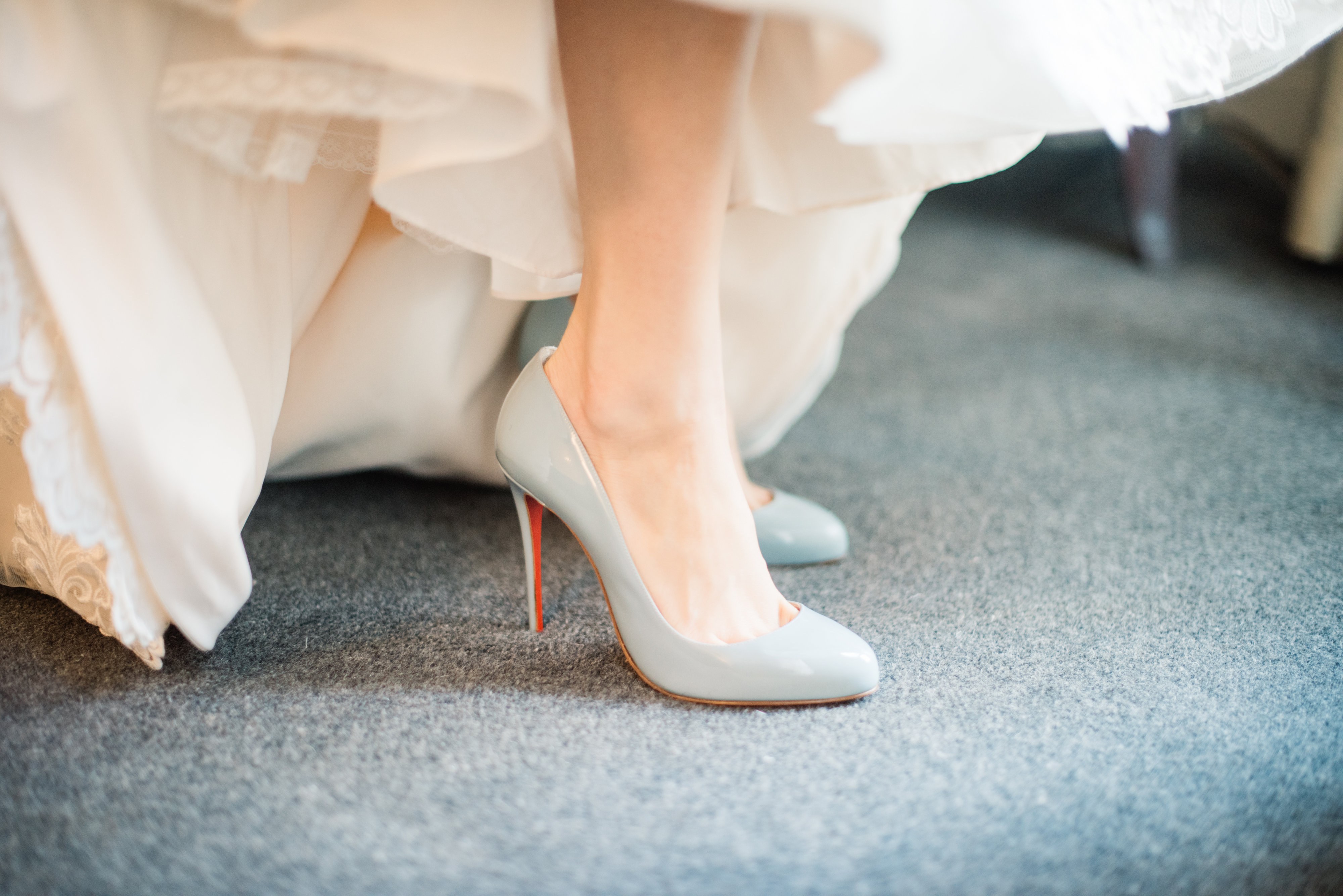 99aa447df Did you/would you wear something blue on your wedding day? My favorite blue  shoes are linked below!