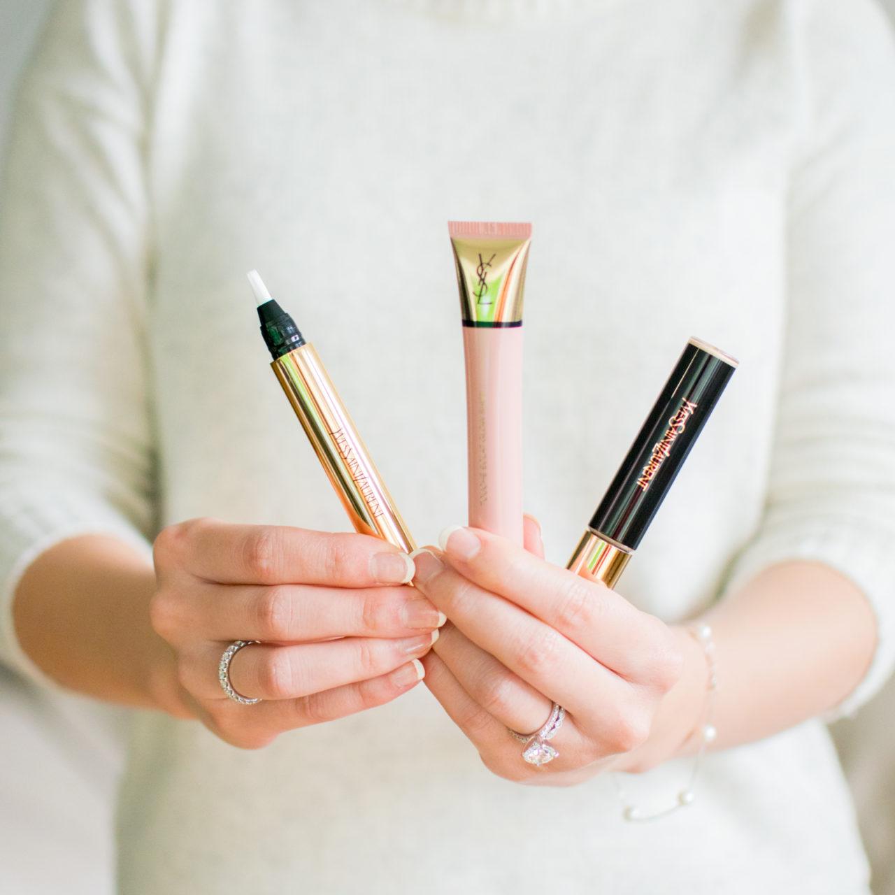 Beauty Finds – Yves Saint Laurent Touche Éclat Glow Shots, Touche Éclat, & All Hours Concealer