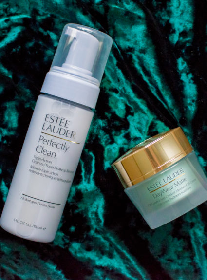Beauty Finds – Estee Lauder Perfectly Clean Triple-Action Cleanser/Toner/Makeup Remover & DayWear Matte Oil-Control Anti-Oxidant Moisture Gel Creme