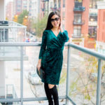 Outfit of the Day 11.17.17 – Velvet Dress