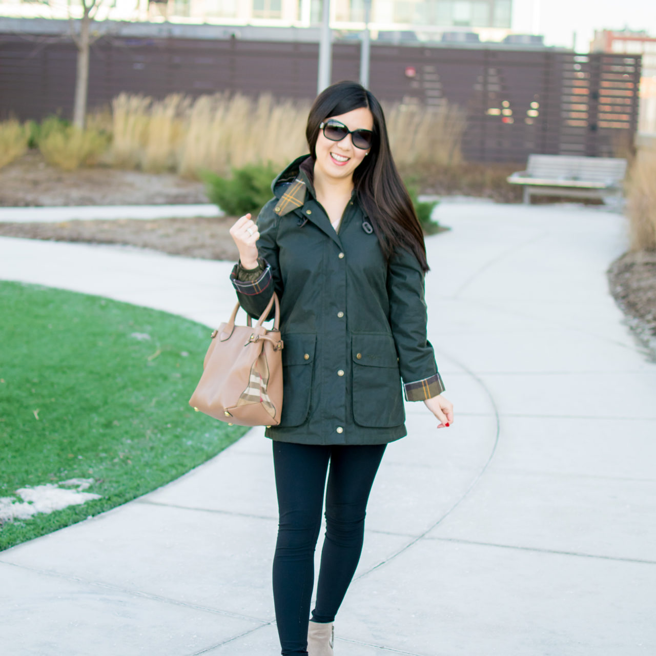 Outfit of the Day 12.22.17 – Barbour Waxed Coat