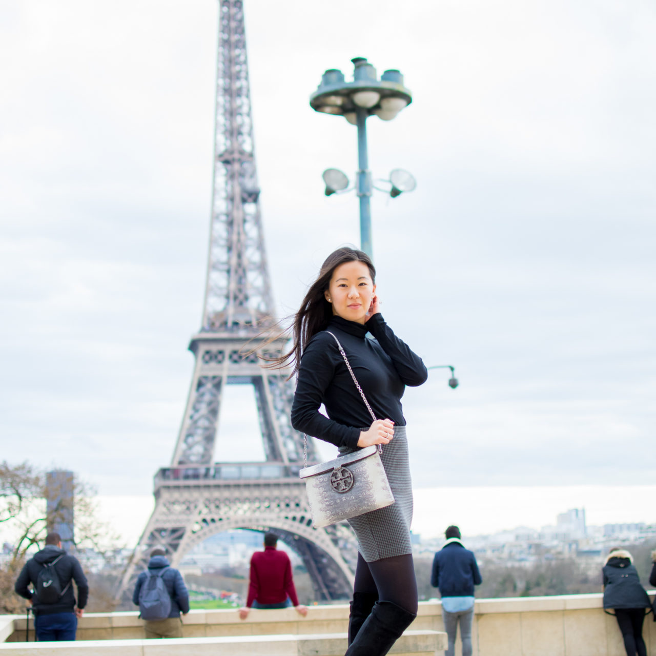 Outfit of the Day 1.8.18 – The Eiffel Tower
