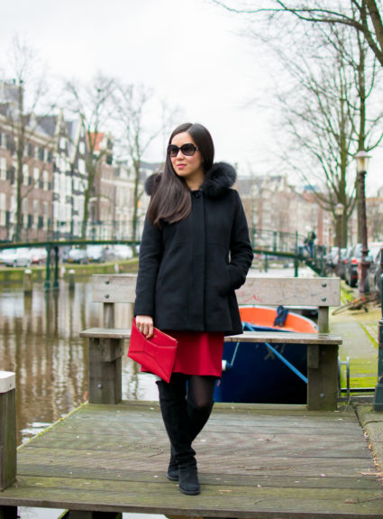 Outfit of the Day 1.24.18 – Canals of Amsterdam