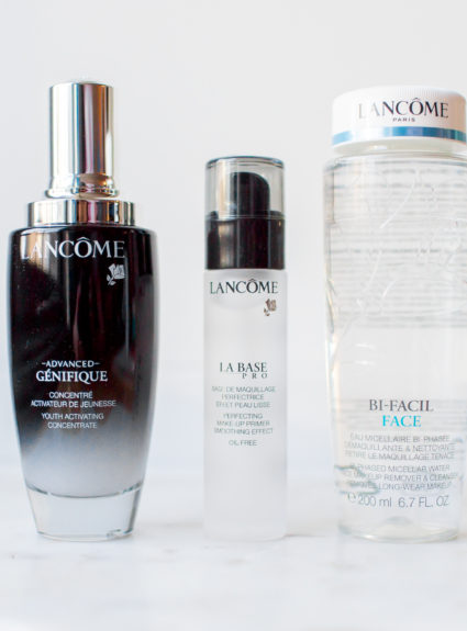 Beauty Finds – Lancôme Bi-facil Face Makeup Remover, Advanced Genefique Youth Activating Concentrate Serum, & La Base Pro Perfecting Makeup Primer