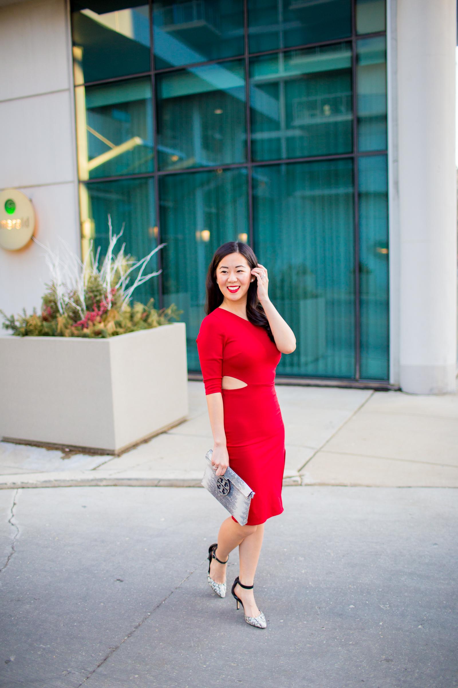 A Little Red Party Dress - Tia Perciballi