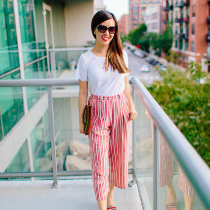 The Comfiest Striped Pants