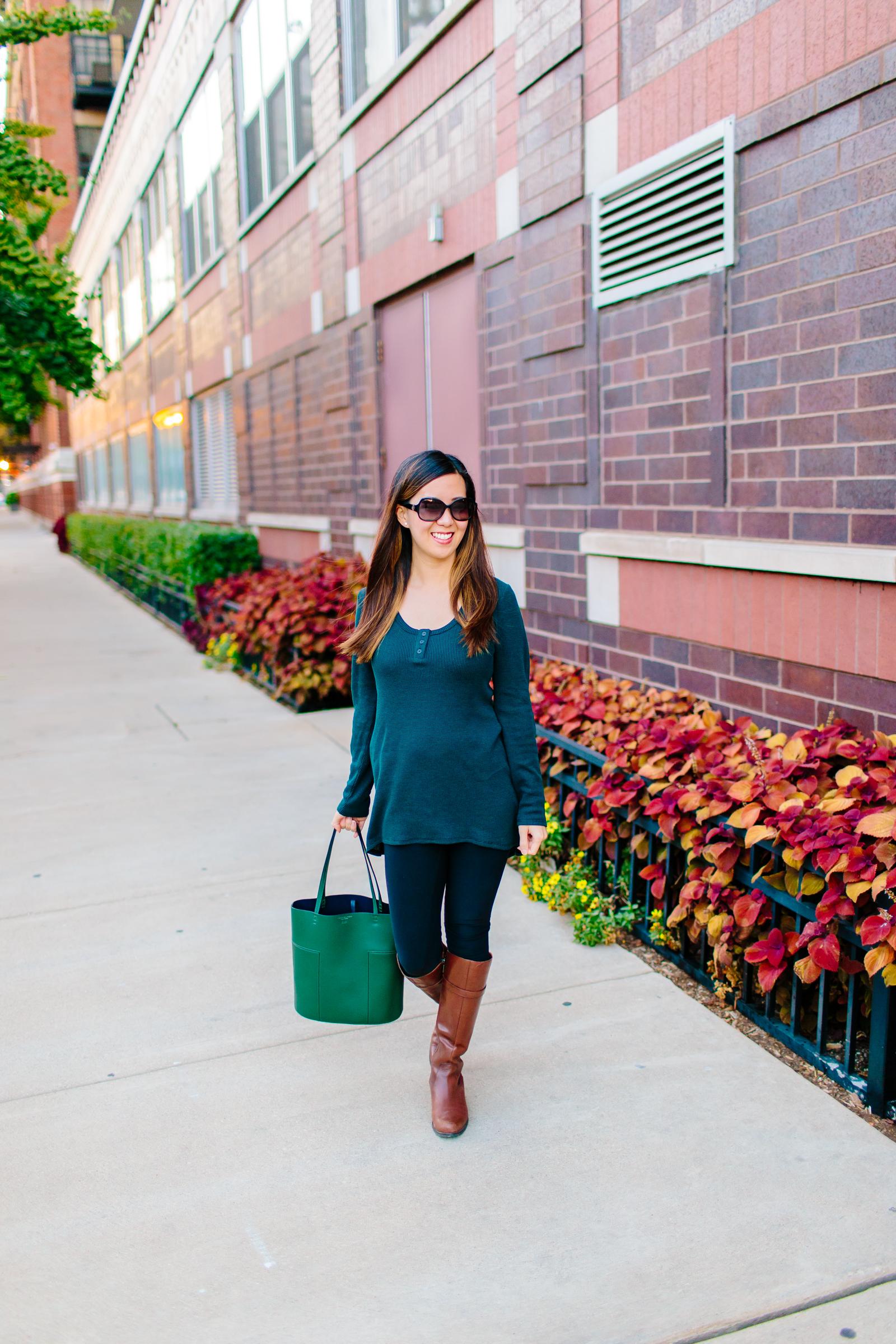 8d6a0f532d4 A Classic Henley for Fall - Tia Perciballi - Fashion   Lifestyle Blog