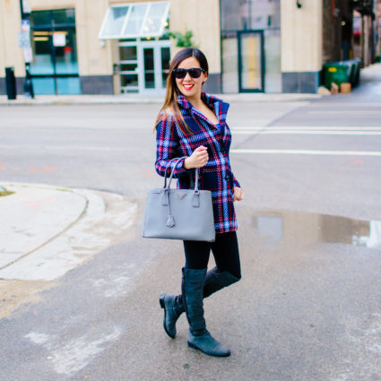 Plaid Coat for Fall (or Winter)