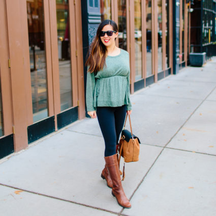 An Under $20 Non-Maternity Top for Pregnant and Non-Pregnant Gals