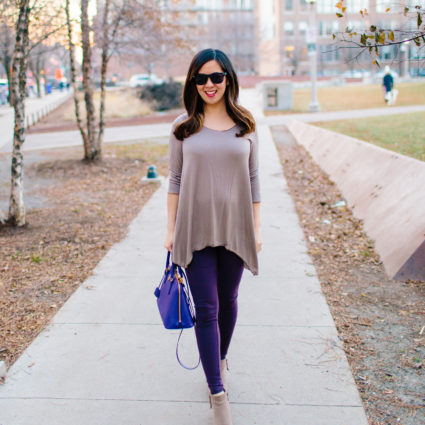 Swing Tunic and the Best Affordable Leggings
