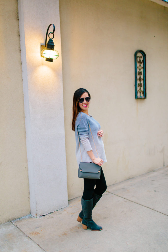 Ombre Sweater and Strathberry Bag, Tia Perciballi Fashion & Lifestyle Blog
