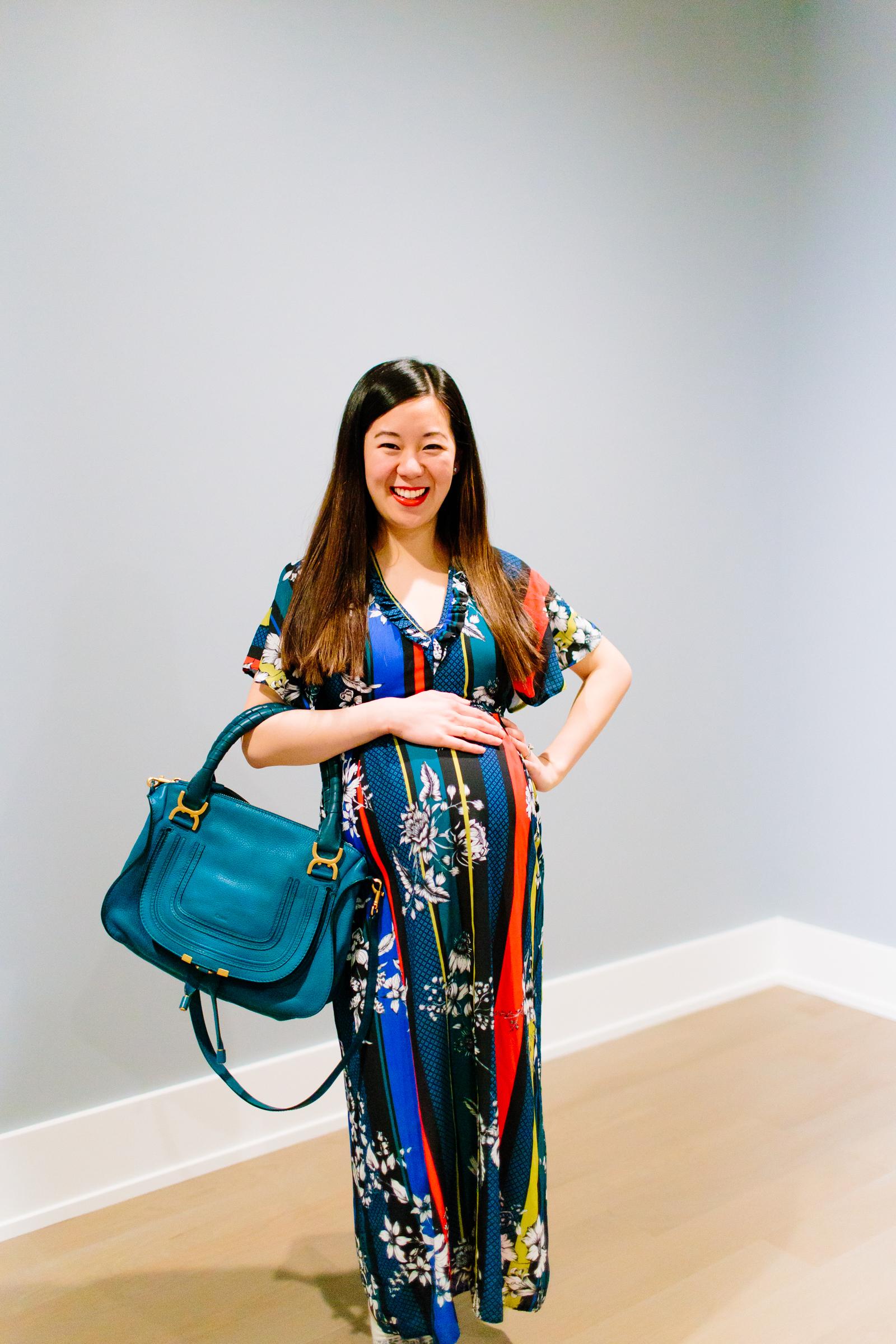 658fde4297 Colorful Maternity Dress for Multiple Occasions - Tia Perciballi