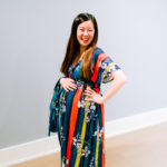 Colorful Maternity Dress for Multiple Occasions